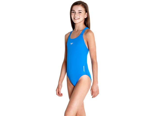 speedo Essential Endurance+ Medalist Badpak Meisjes, neon blue